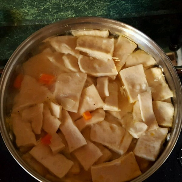 old fashioned chicken and slick dumplings photos
