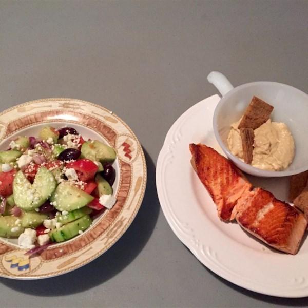 good for you greek salad photos