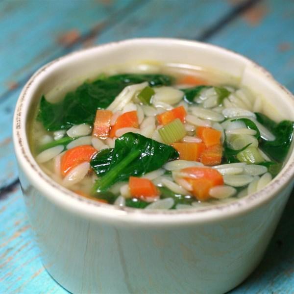 easy spinach soup photos