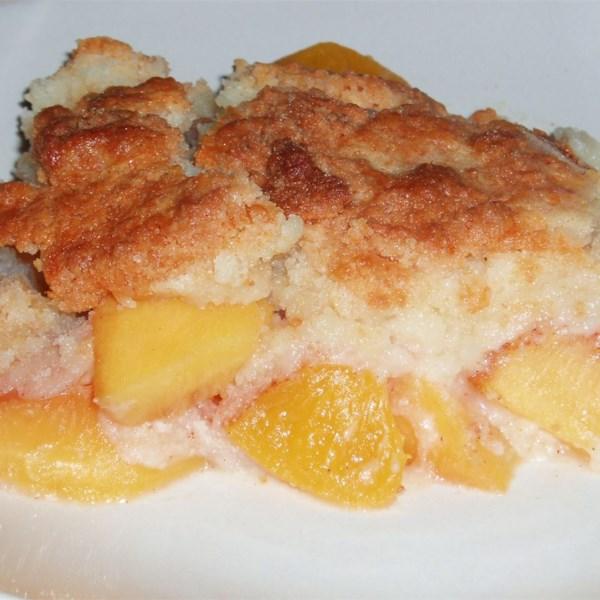 Easy Peach Cobbler With Cake Mix Photos