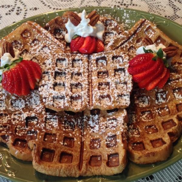 easy french toast waffles photos
