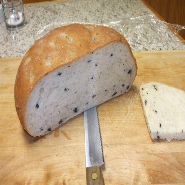 black olive and mediterranean spice bread photos