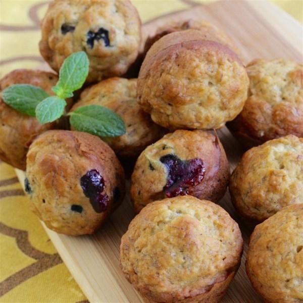 best yet banana mini muffins photos
