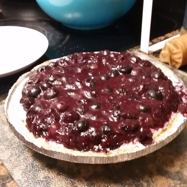 homemade blueberry pie filling photos
