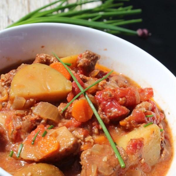 moms basic vegetable beef stew photos
