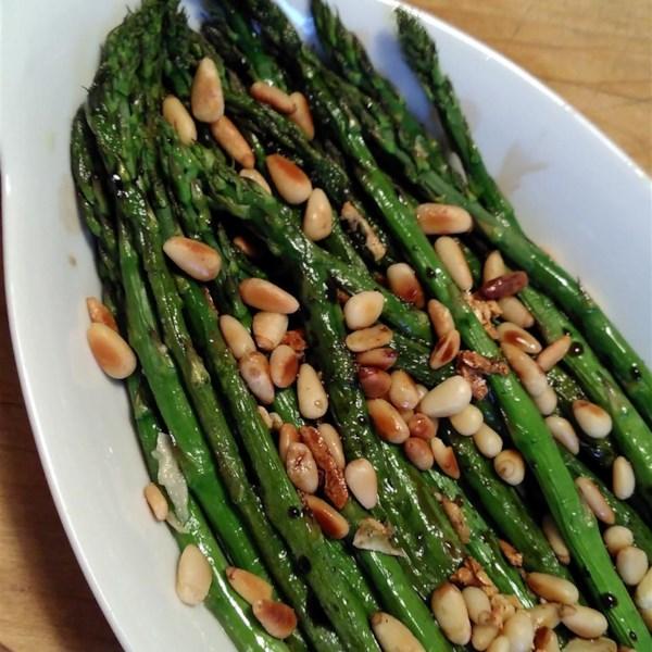 roasted asparagus with balsamic vinegar photos