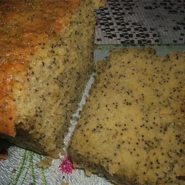 moist lemon poppy seed cake photos