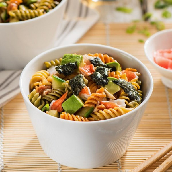 catelli bistro california sushi pasta salad with pickled ginger