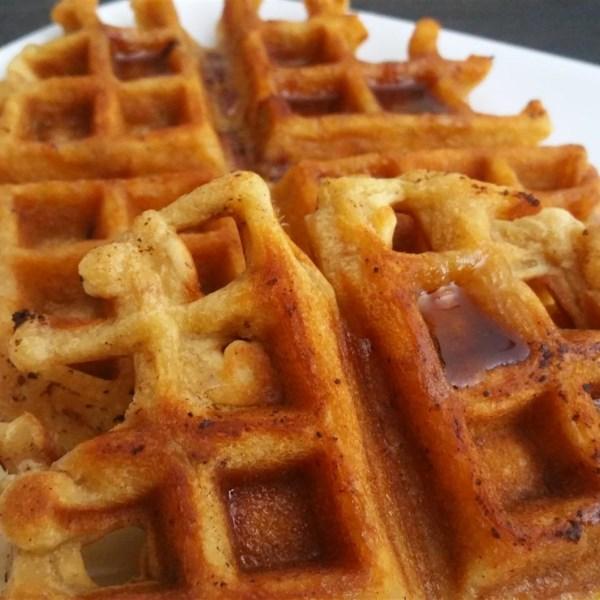 brown sugar bacon waffles photos