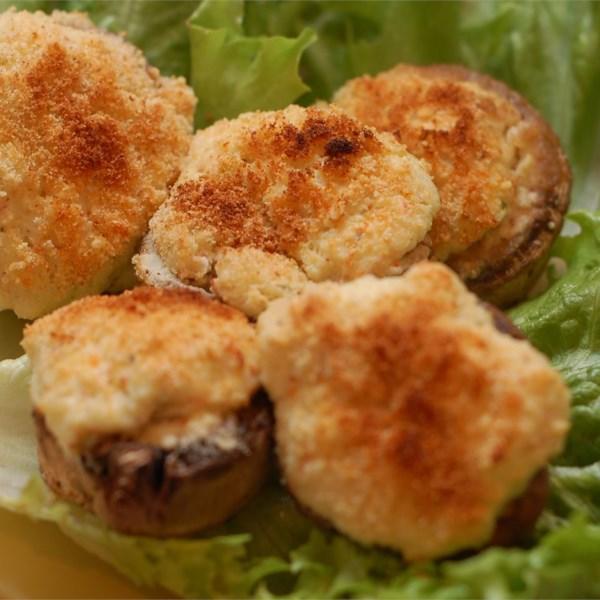 the best seafood stuffed mushrooms photos