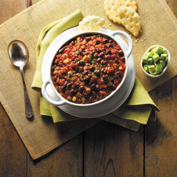 quinoa and black bean chili from goya r photos