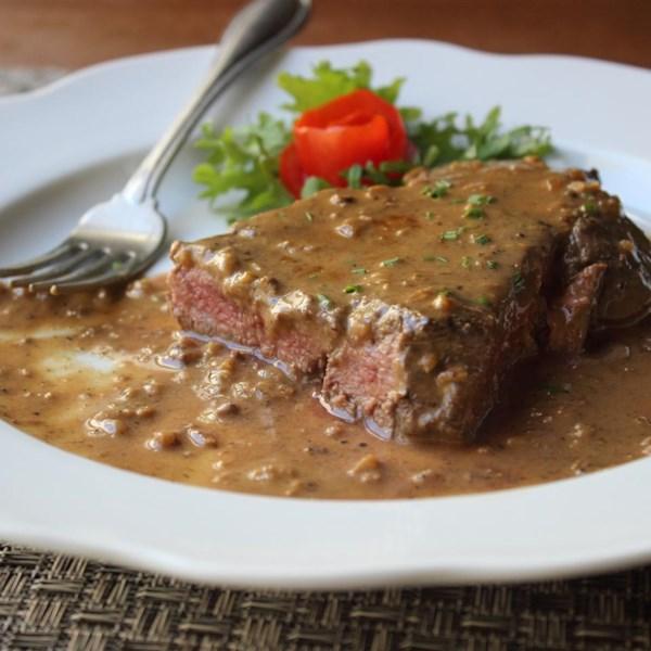chef johns steak diane photos