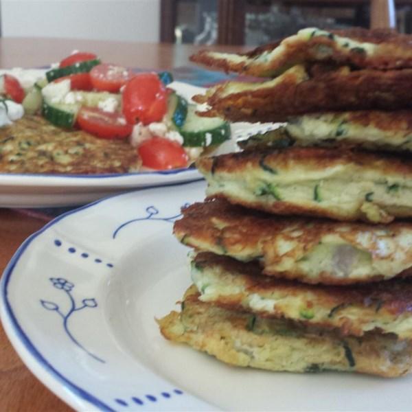 zucchini patties photos