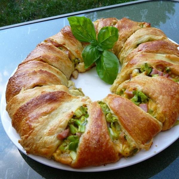 broccoli ham ring photos