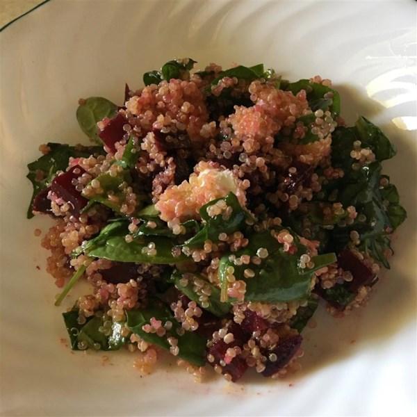 quinoa beet and arugula salad photos
