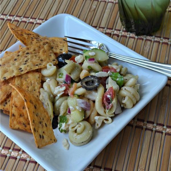 greek orzo salad photos