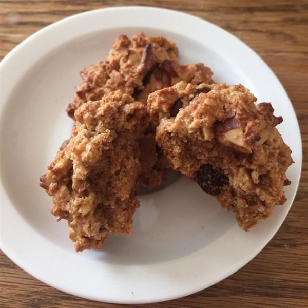 vegan chocolate chip oatmeal and nut cookies photos