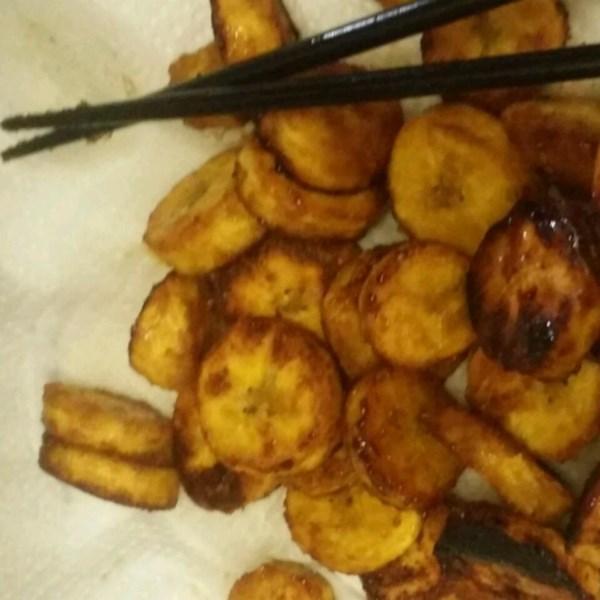 sauteed sweet plantains tajaditas dulces de platano photos