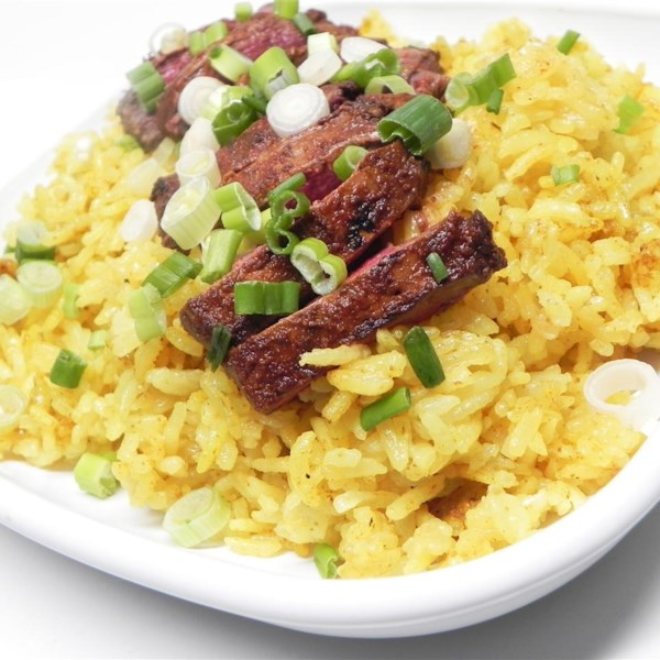 duck and yellow rice photos