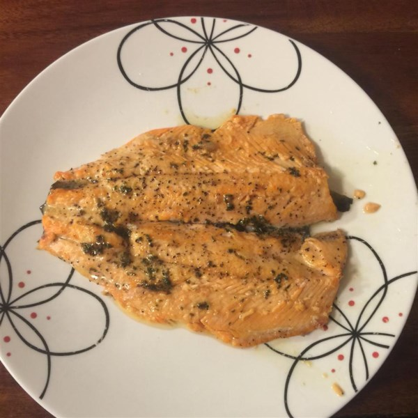 how to cook trout portion