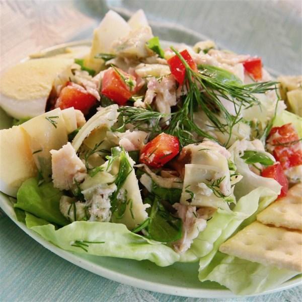 tuna artichoke salad photos