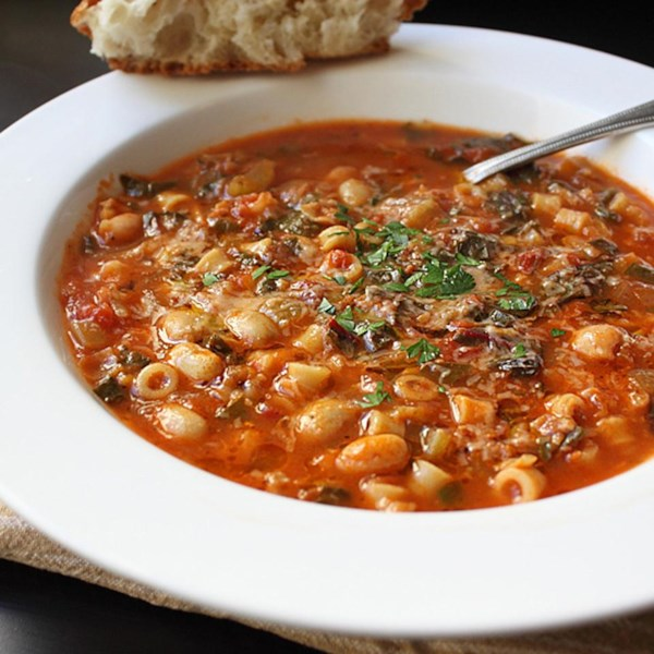 chef johns minestrone soup photos