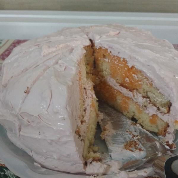 creamy orange cake photos