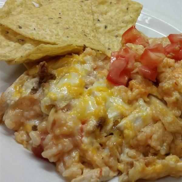 Salsa Chicken Rice Casserole Photos