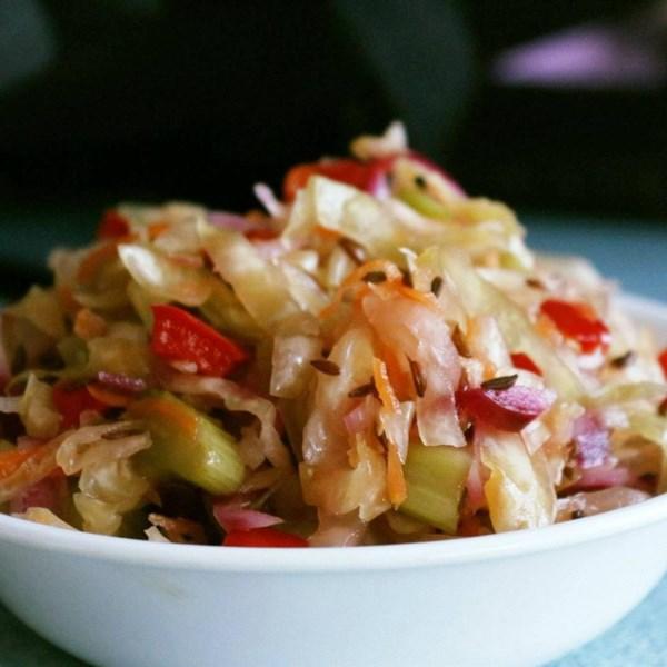 sauerkraut salad with caraway seeds photos