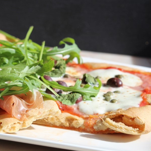 gluten free pizza crust or flatbread photos
