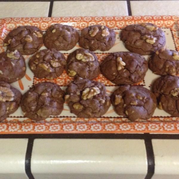 easy brownie mix cookies photos