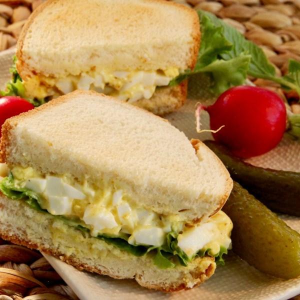 curried egg sandwiches photos