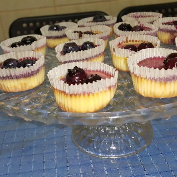 mini cheesecakes with vanilla wafers photos