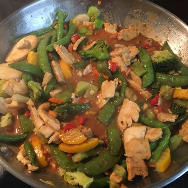 thai peanut stir fry sauce photos