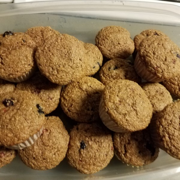 whole wheat oatmeal strawberry blueberry muffins photos
