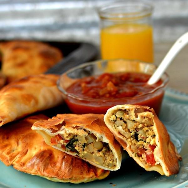 roast beef hash breakfast empanadas photos