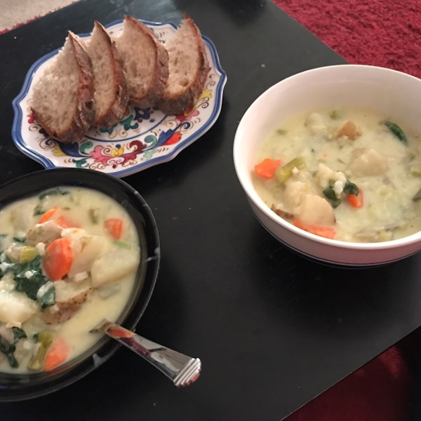 french spring soup photos