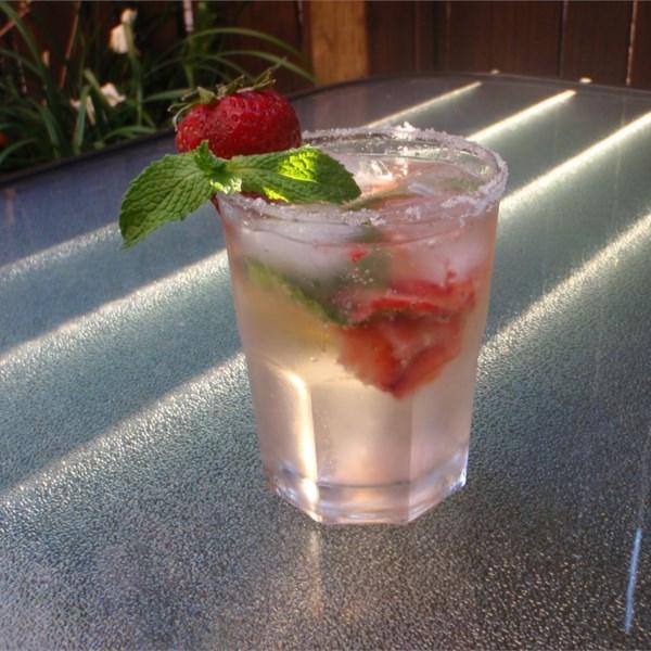 strawberry mojito photos