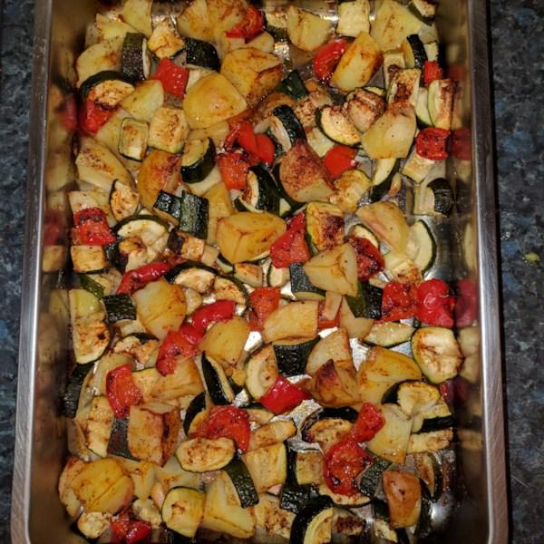 zucchini and potato bake photos
