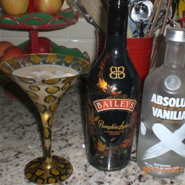 pumpkin spice martini photos