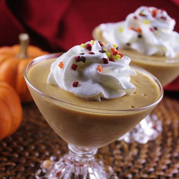 pumpkin parfait photos