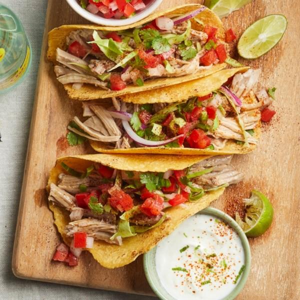 zesty carnitas tacos photos