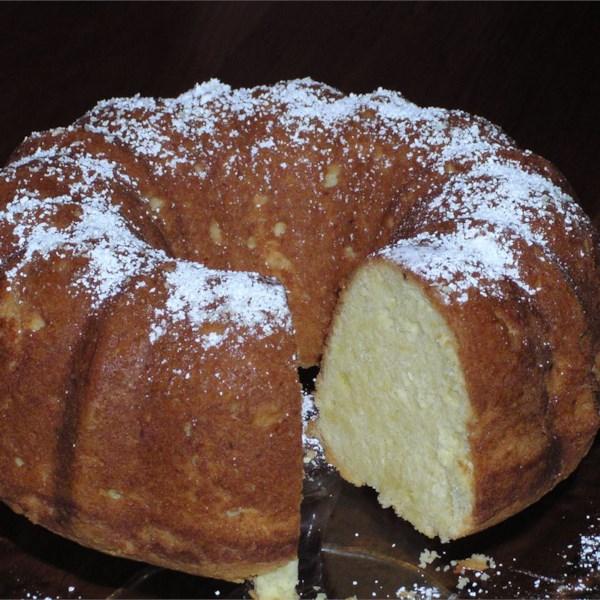 grandmas sour cream pound cake photos