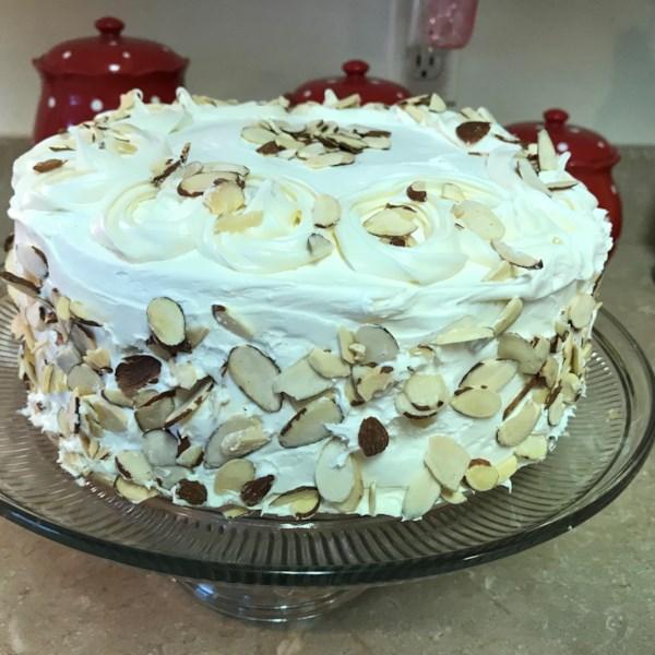 White Almond Wedding Cake.White Almond Wedding Cake Photos Allrecipes Com