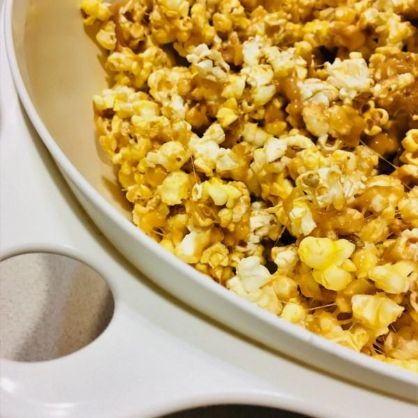 peanut butter popcorn photos