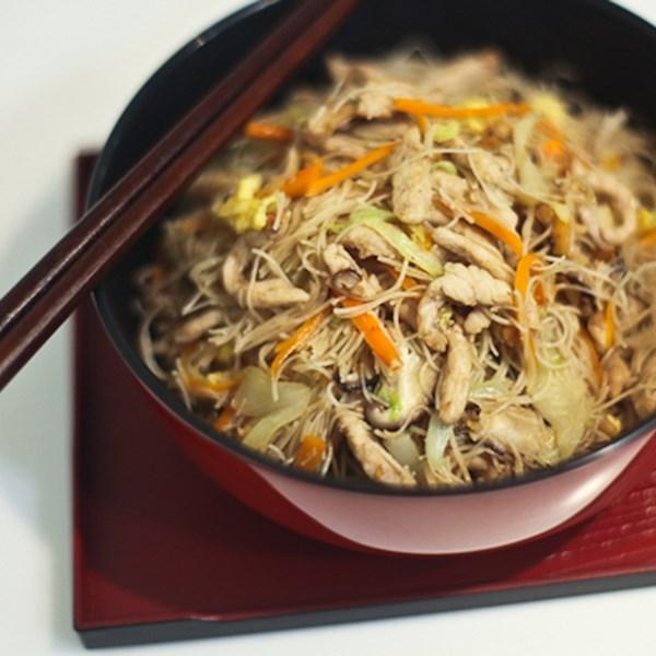 tsao mi fun taiwanese fried rice noodles photos