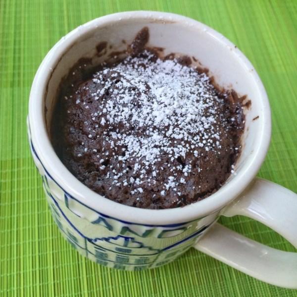 no egg chocolate mug cake photos