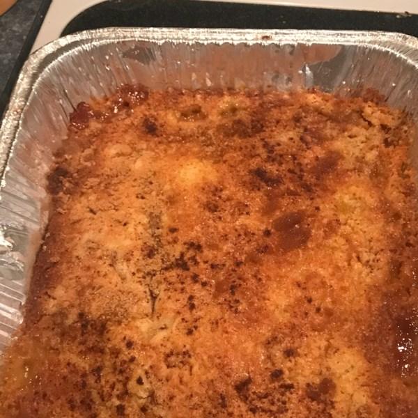 Peach Cobbler Dump Cake I Photos