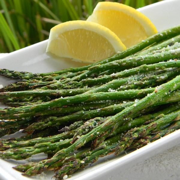 grilled lemon parmesan asparagus photos