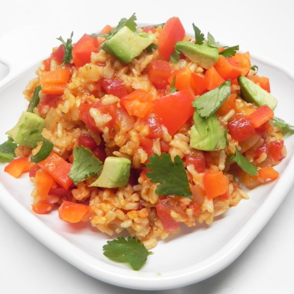 vegan spanish rice photos